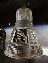 Capsule, Mercury, MA-6, 1962. Creator: McDonnell Aircraft Corp..