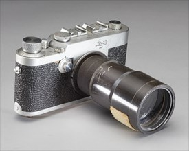 Camera, Leica, Spectrographic, 35mm, Glenn, Friendship 7, ca. 1962. Creator: Leica.