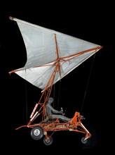 Paraglider Research Vehicle (Paresev) 1-A, Gemini, 1960s. Creator: NASA.