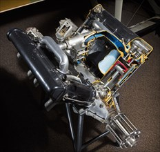 Hispano-Suiza A (Wright-Martin) V-8 Engine, 1918. Creator: Wright Aeronautical.