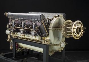 Hispano-Suiza 12YCRS V-12 Engine, ca. 1932. Creator: Hispano-Suiza.