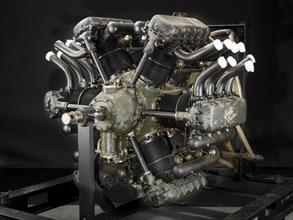 Curtiss Chieftain H-1640, Radial 12 Engine, ca. 1928. Creator: Curtiss Aeroplane and Motor Company.