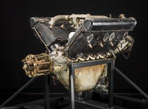 Hispano-Suiza (Wright-Martin E), V-8 Engine, ca. 1916. Creators: Wright Aeronautical, Wright-Martin.