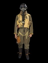 RAF flying suit, 1940s. Creator: Unknown.