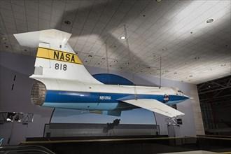Lockheed F-104A Starfighter, 1950s. Creator: Lockheed Aircraft Corporation.