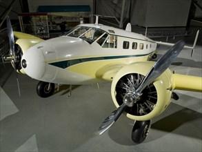 Beechcraft D18S Twin Beech, 1937-1969. Creator: Beech Aircraft Corporation.