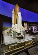 Model, Space Shuttle, North American Rockwell Final Design, ca 1981. Creator: Rockwell International Corporation.