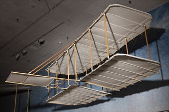 1900 Wright Glider (reproduction), 2003. Creator: Ken Hyde.