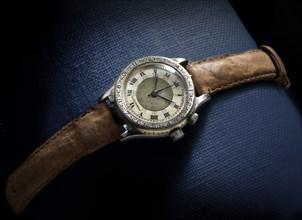 Hour Angle wristwatch, ca. 1927. Creator: Longines-Wittnauer Watch Co..