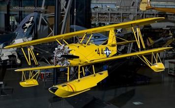 Naval Aircraft Factory N3N-3, 1941. Creator: Naval Aircraft Factory.