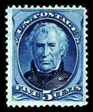 5c Zachary Taylor single, 1879. Creator: American Bank Note Company.