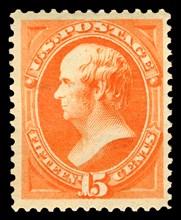 15c Daniel Webster single, 1879. Creator: American Bank Note Company.