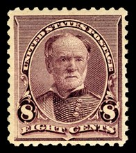 8c William T. Sherman single, 1893. Creator: American Bank Note Company.