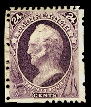 24c General Winfield Scott special printing single, 1875. Creator: Continental Bank Note Company.