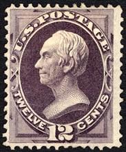 12c Henry Clay single, 1870. Creator: National Bank Note Company.