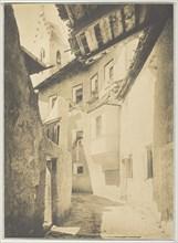 A Street in Sterzing, The Tyrol, 1890. Creator: Alfred Stieglitz.