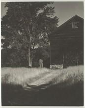 Barn, Lake George, 1936. Creator: Alfred Stieglitz.