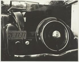 Car 2F-77-77, 1935. Creator: Alfred Stieglitz.