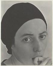 Dorothy Norman, c. 1931. Creator: Alfred Stieglitz.