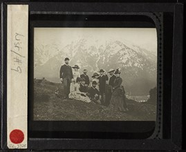 Family & Friends at Mittenwalk, c. 1884. Creator: Alfred Stieglitz.