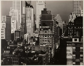 From My Window at An American Place, North, 1930/31. Creator: Alfred Stieglitz.