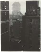 From My Window at An American Place, Southwest, 1932. Creator: Alfred Stieglitz.