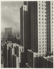 From My Window at the Shelton, West, 1931. Creator: Alfred Stieglitz.