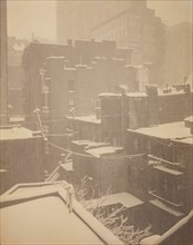 "From the Back-Window ""291"", 1915. Creator: Alfred Stieglitz."