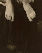 Georgia O'Keeffe - Feet, 1918. Creator: Alfred Stieglitz.