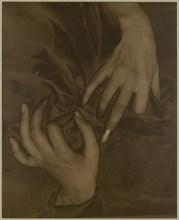 Georgia O'Keeffe - Hands and Thimble, 1919. Creator: Alfred Stieglitz.