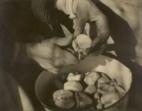 Georgia O'Keeffe - Hands, 1920/22. Creator: Alfred Stieglitz.