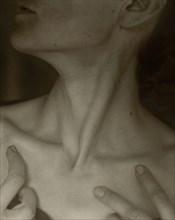 Georgia O'Keeffe - Neck, 1921. Creator: Alfred Stieglitz.