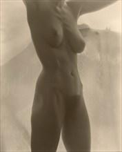 Georgia O'Keeffe - Torso, 1918. Creator: Alfred Stieglitz.