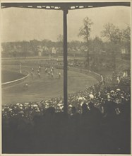 Going to the Post, Morris Park, 1904. Creator: Alfred Stieglitz.