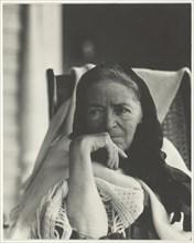 Hedwig Stieglitz, 1921/22. Creator: Alfred Stieglitz.
