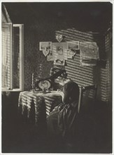 Sun Rays - Paula, Berlin, 1889, printed 1920/39. Creator: Alfred Stieglitz.