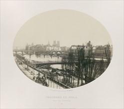 Pris des Tuileries, c. 1867. Creator: Charles Soulier.