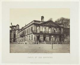 Palais de Saint-Cloud, 1870/71. Creator: Charles Soulier.