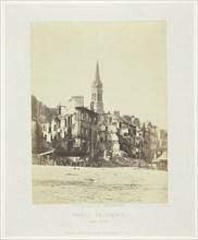 Paris Fire (Place de Saint-Cloud), May 1871. Creator: Charles Soulier.