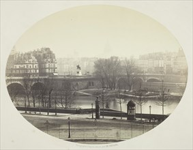 The Pont Neuf in Paris, 1860/75. Creator: Charles Soulier.
