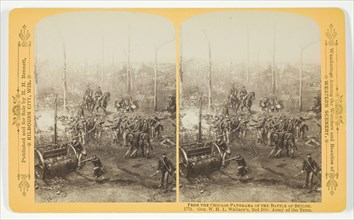 Gen. W.H.L. Wallace's, 2nd Div. Army of the Tenn., 1887. Creator: Henry Hamilton Bennett.