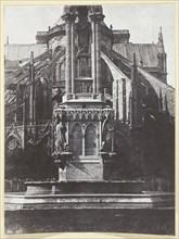 La Fontaine du square de l'Archevêché; Derrière Notre-Dame, 1847, printed 1965. Creator: Hippolyte Bayard.