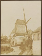 Moulin de la Galette (Montmartre), 1842. Creator: Hippolyte Bayard.