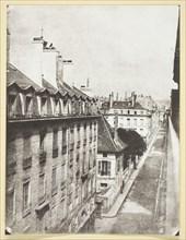 Rue Cambon, 1846, printed 1965. Creator: Hippolyte Bayard.
