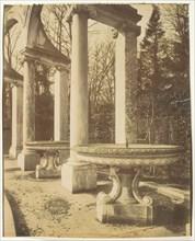 Parc de Versaille bosquet de la Colonnade, 1905. Creator: Eugene Atget.