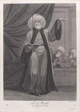Le Moufti, ou Chef de la Loy, 1714-15. Creator: Unknown.
