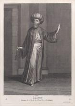Emir, homme de Loy de la Race de Mahomet, 1714-15. Creator: Unknown.