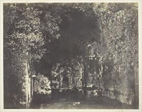 The Grotto of Egeria, Rome, c. 1858. Creator: Robert MacPherson.