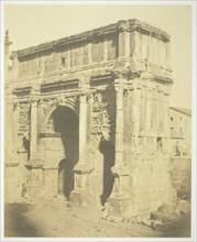 Arch of Septimius Severus, c. 1857. Creator: Robert MacPherson.