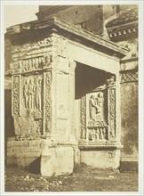 Arch of the Silversmiths, c. 1857. Creator: Robert MacPherson.